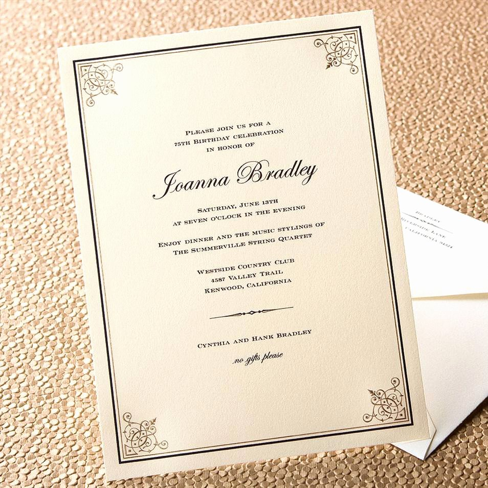 Informal Dinner Party Invitation Wording