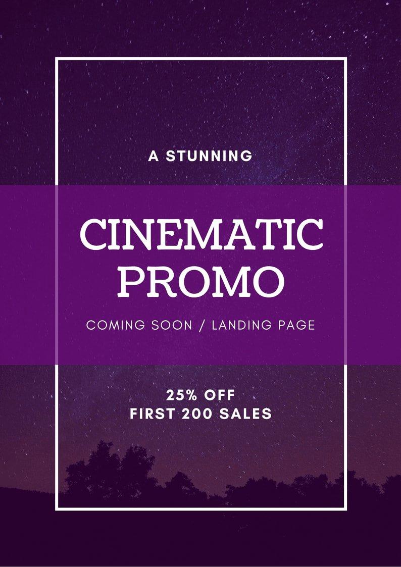 Ing soon Template Landing Page