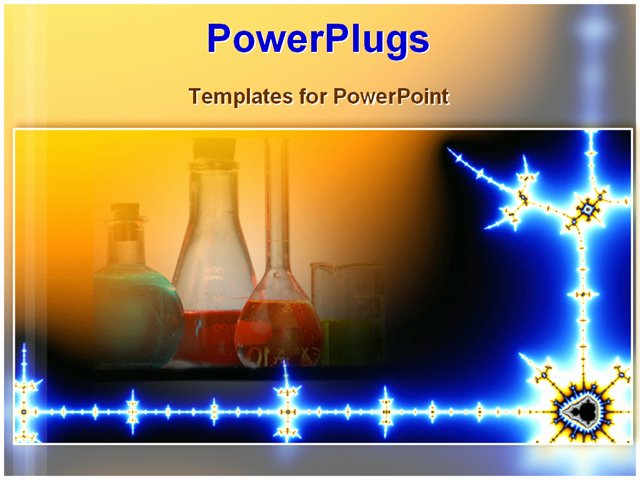 Inside Science Laboratory Powerpoint Template Background