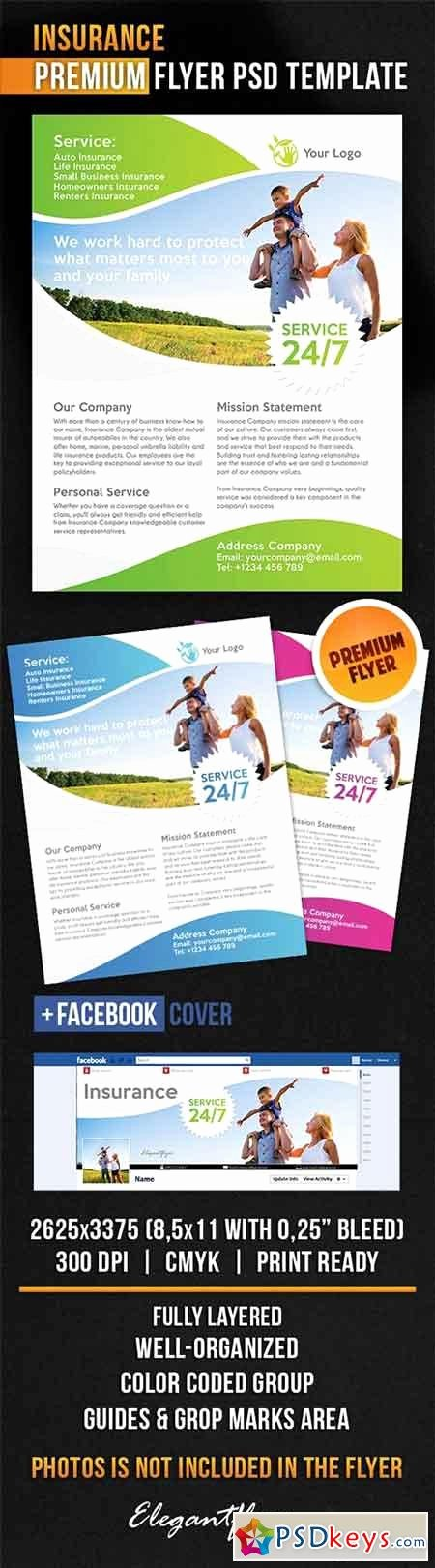 Insurance Flyer Psd Template Cover Free