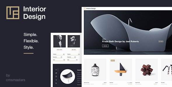 Interior Design Architecture & Design Wp theme by