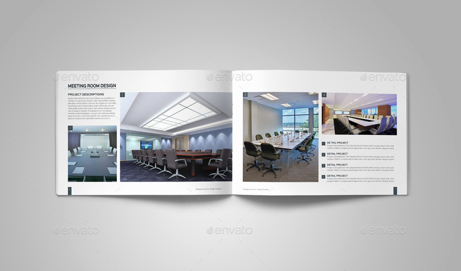 Interior Design Portfolio Template by Habageud