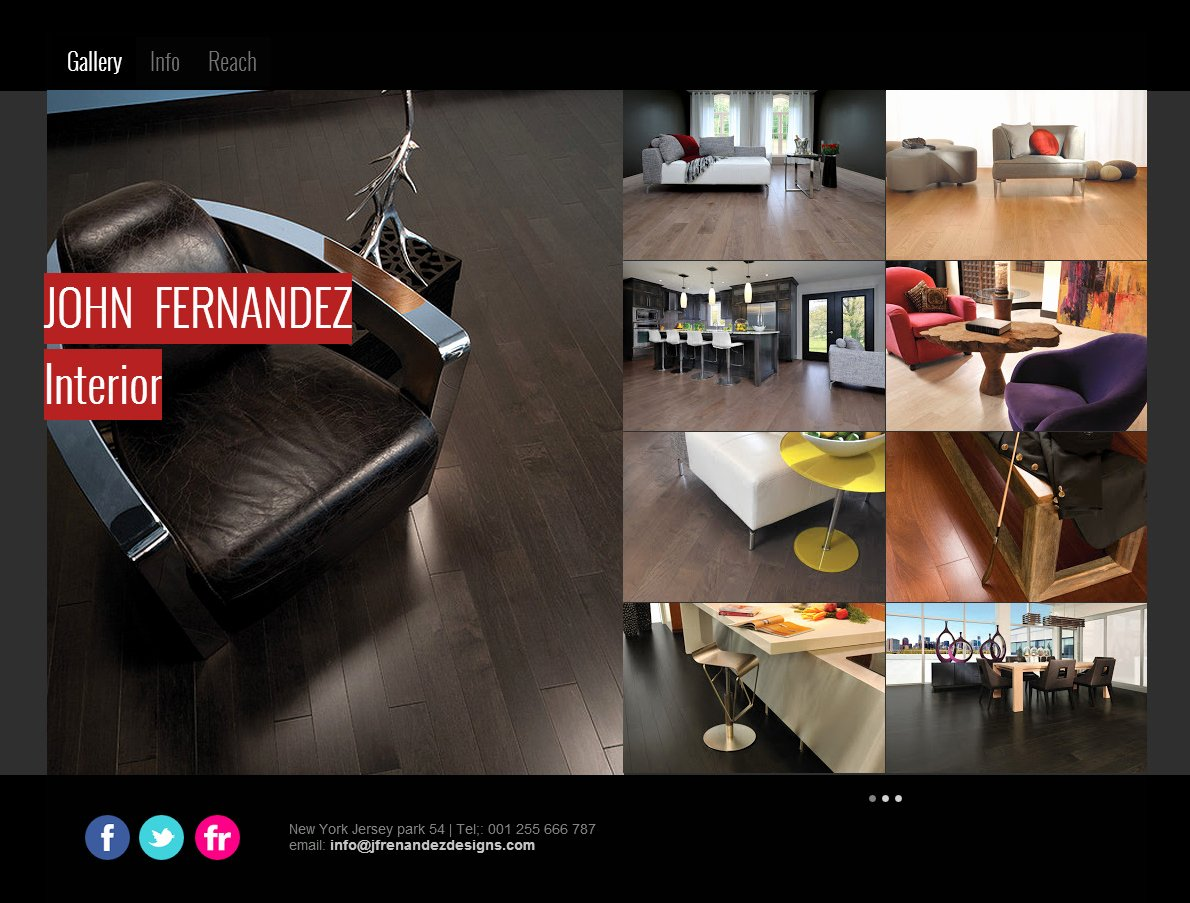 Interior Design Website 3