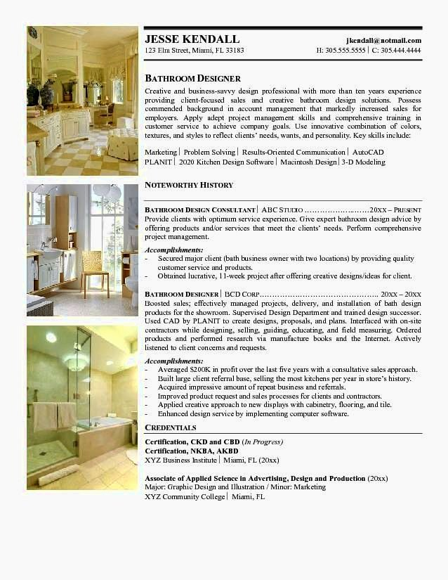 Interior Designer Cv Template Resume Template