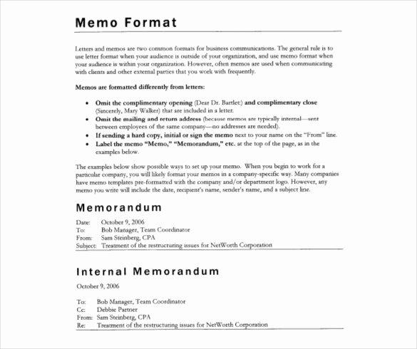Internal Memo Templates 20 Free Word Pdf Documents