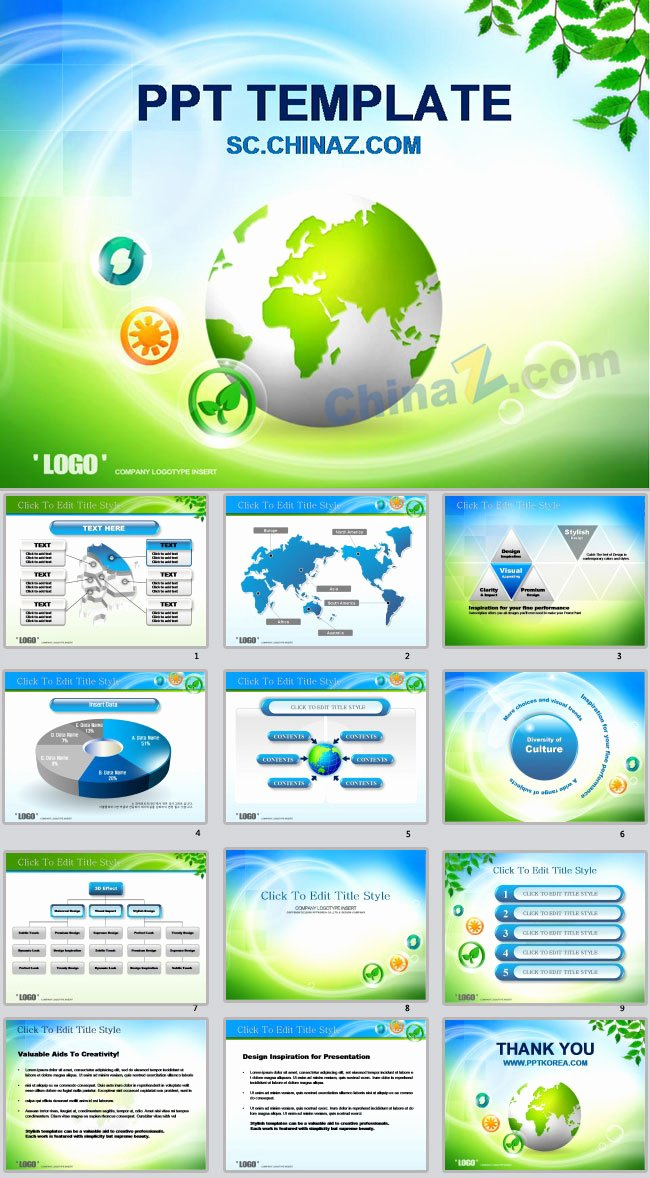 International Business Ppt Templates