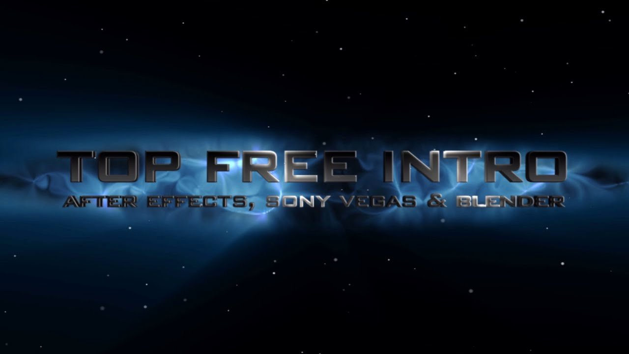 Intro Template No Plugins after Effects Cs6 2016 Free