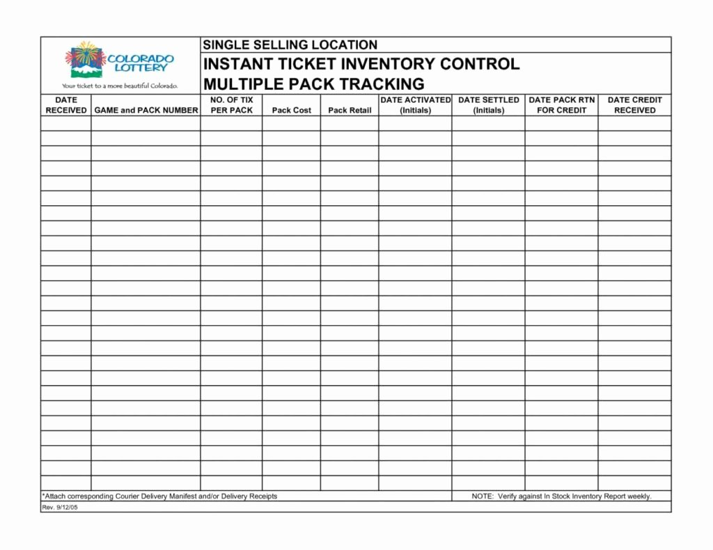 Inventory Tracking Spreadsheet Template Free Free