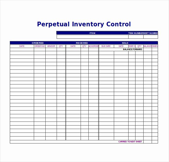Inventory Tracking Template – 6 Free Word Excel Pdf