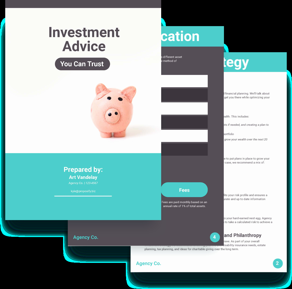 Investment Proposal Template Free Sample