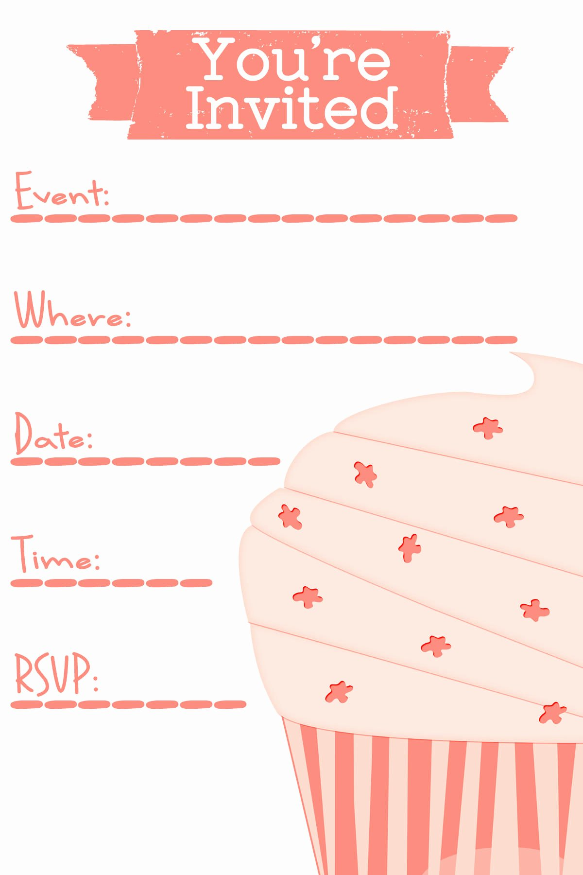 Invitation Cards Templates Free Printable