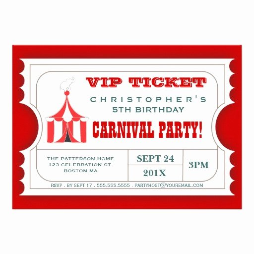 Invitation Ticket Template Invitation Template