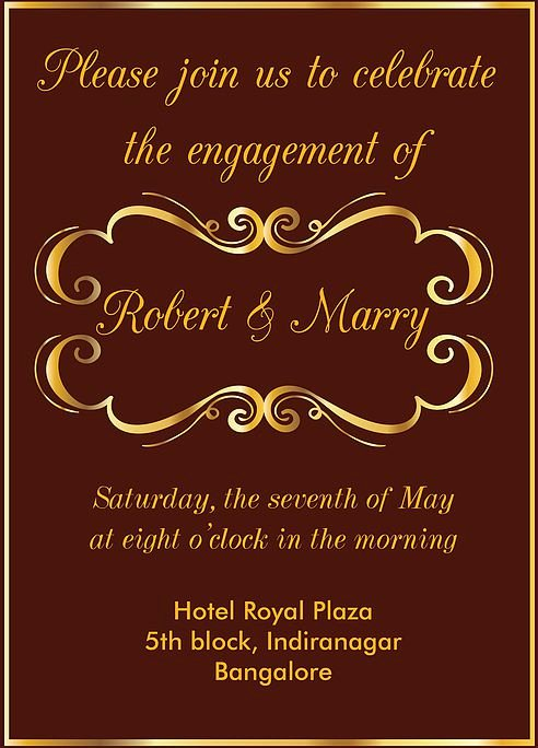 Invitation Wording Free Samples