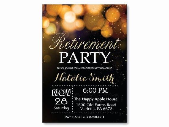 Invitations Retirement Party Free Printable