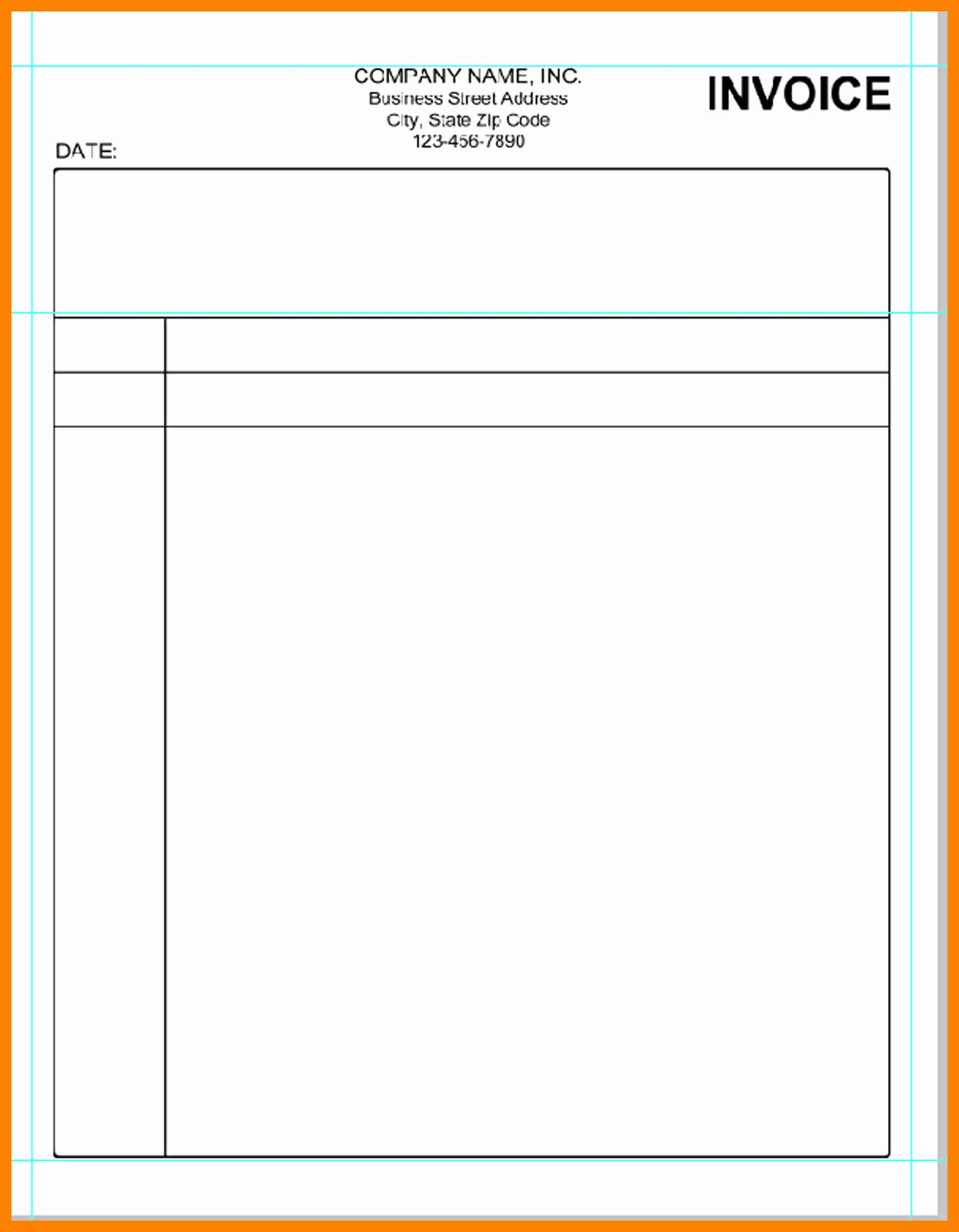 Invoice Templates In Word Portablegasgrillweber