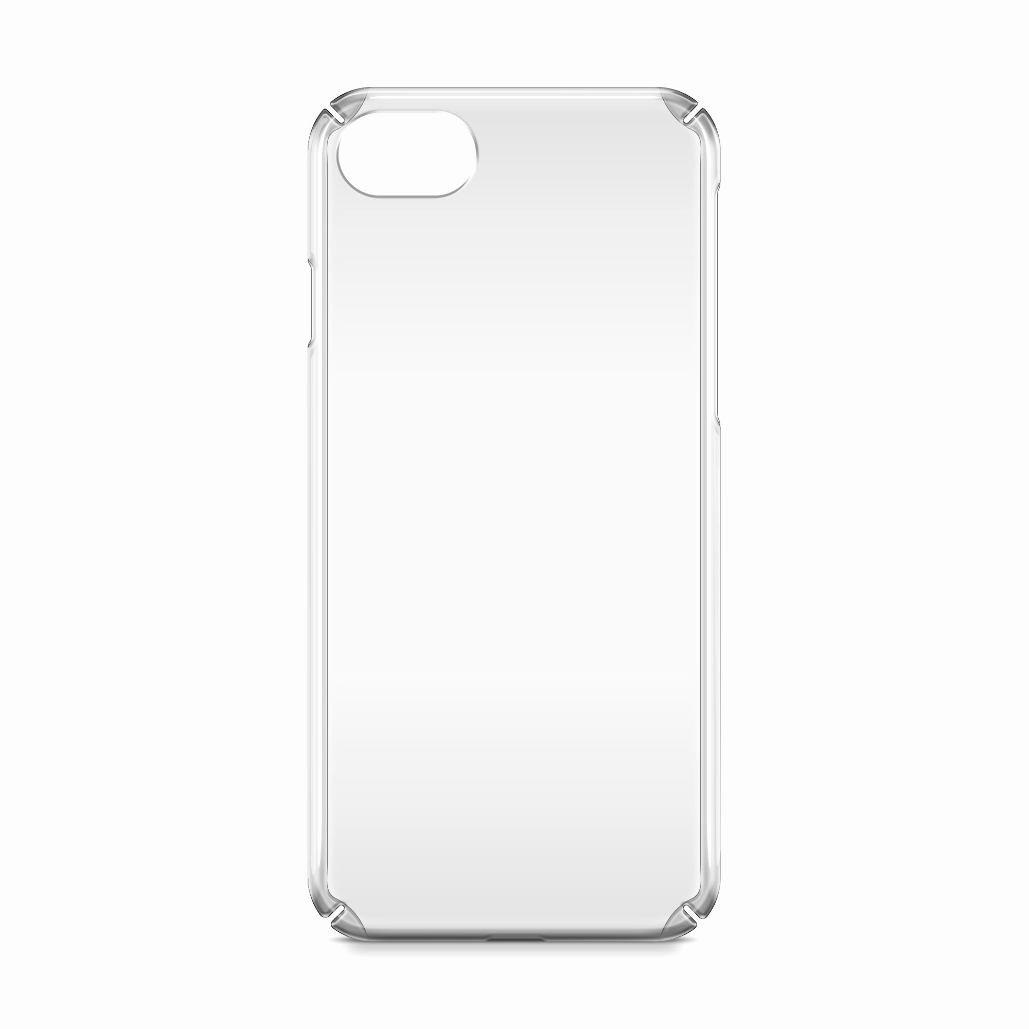 iPhone 7 Uv Pc Case Mockup Back View by