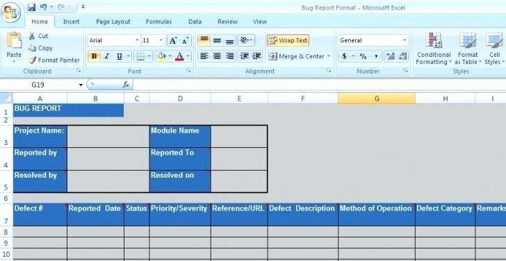 Issue Tracking Excel Template – Travelmumsub