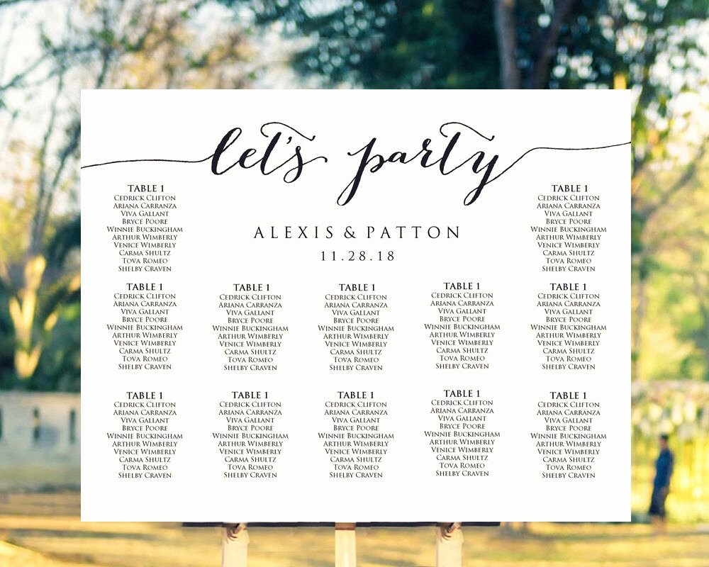 It S Easy to Create Your Own Personalized Wedding Seating