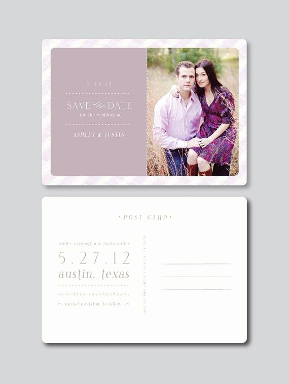 Items Similar to Sale Save the Date Card Design