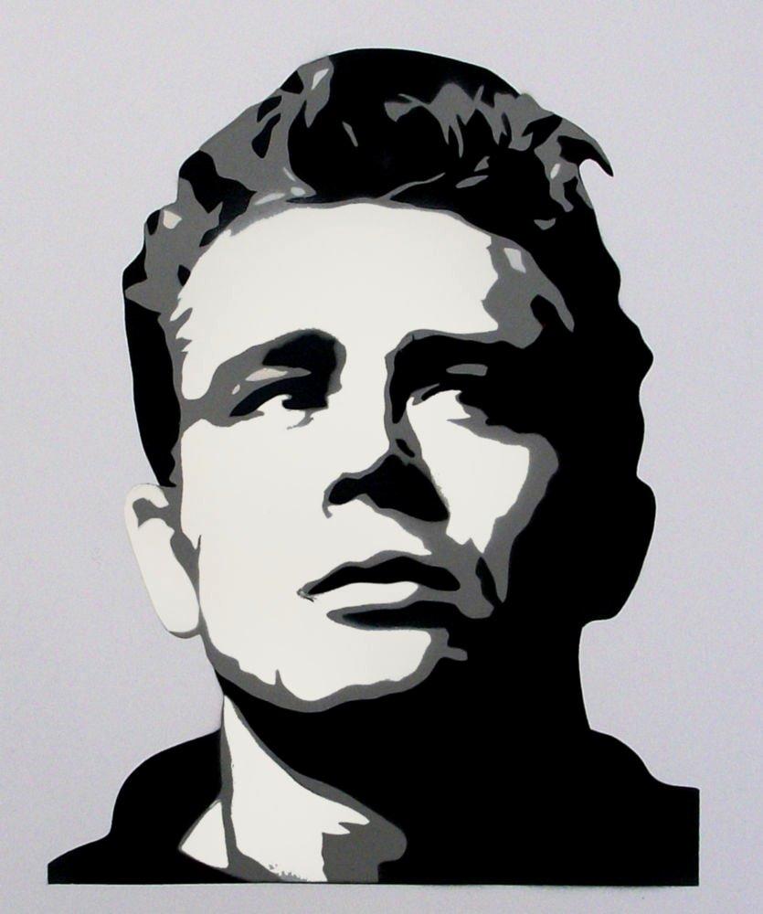 James Dean Multi Layer Stencil Use for Art Home Decor