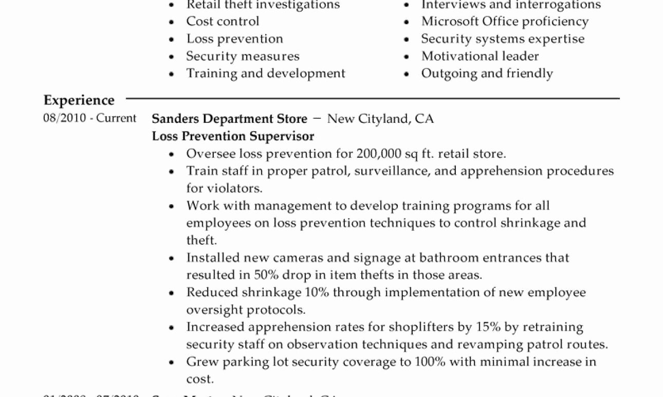 Janitor Job Duties Resume