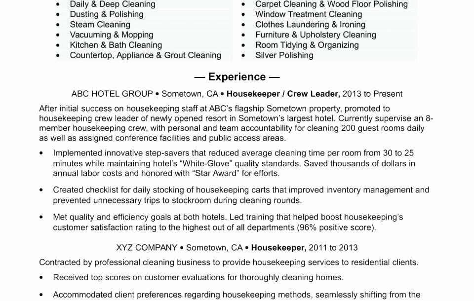 Janitorial Duties for Resume Janitor Job Description