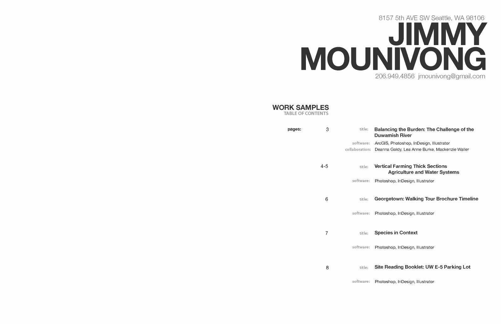 Jimmy Mounivong January 2011