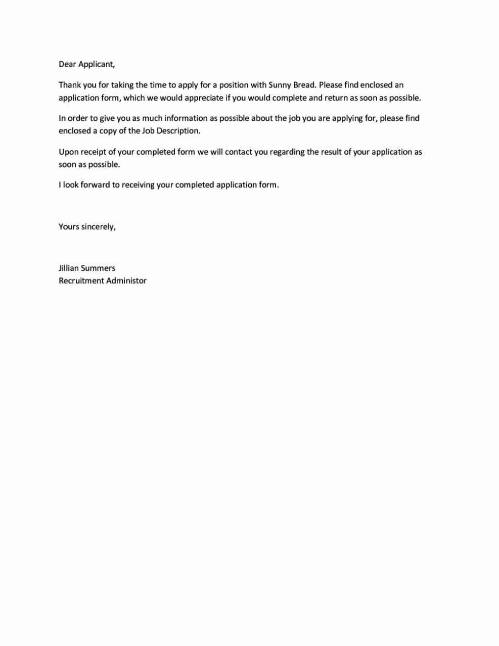 Job Application Follow Up Email Template