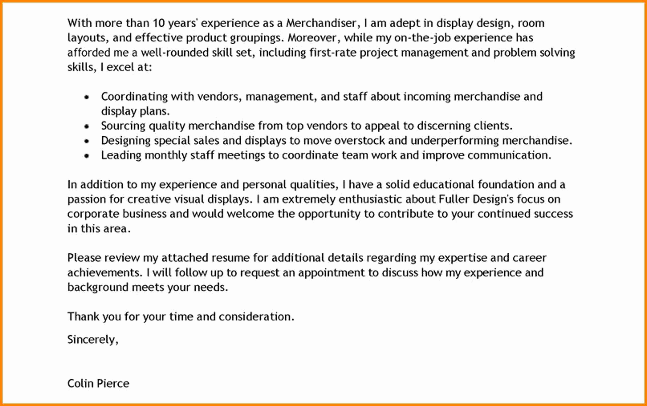 Job Application Letter Sample for Medical Representative