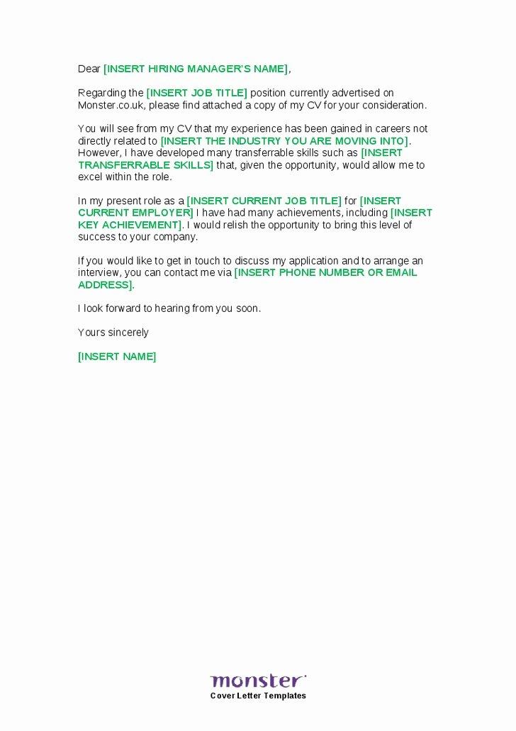 Job Change Cover Letter Letter Of Re Mendation