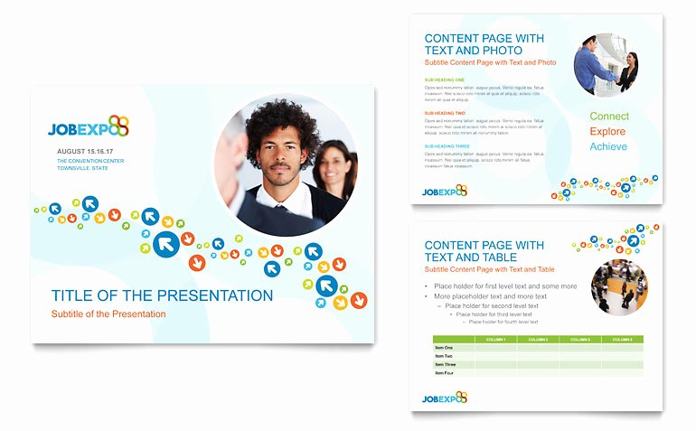 Job Expo & Career Fair Powerpoint Presentation