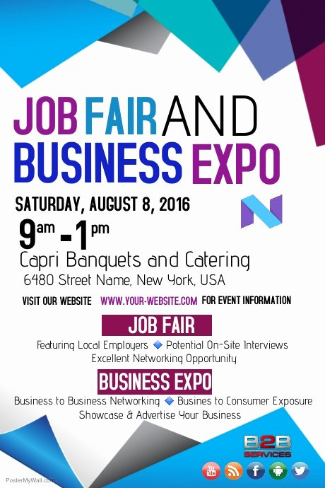 Job Fair and Business Expo Template