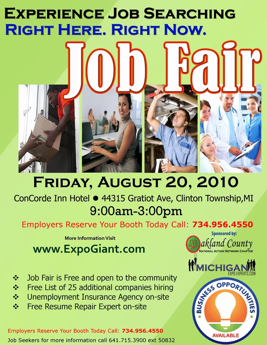 Job Fair Flyer Template Free Yourweek 0206a4eca25e