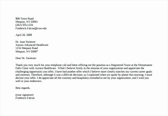 Job Fer Letter Template Us Copy Counter Fer Letter