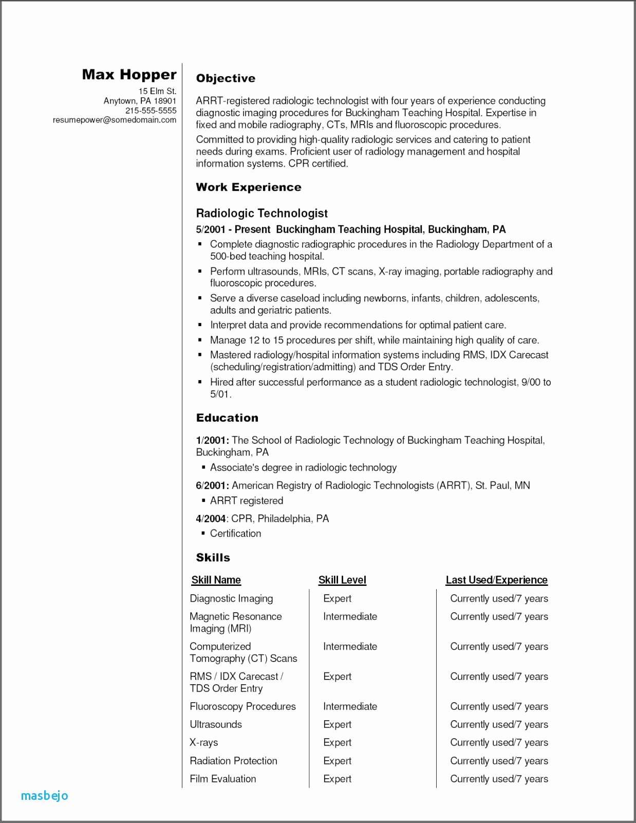 Job Hopping Resume Example 22 Unique How to Do A Resume