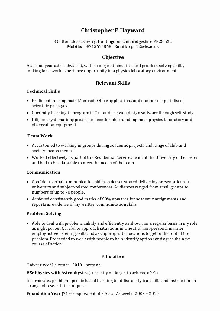 Job Resume Munication Skills 911 topresume