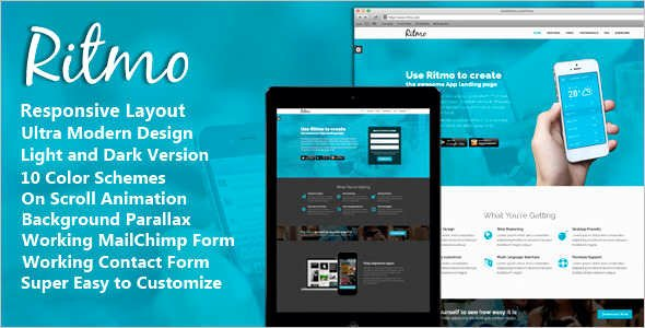 Jquery Landing Page Templates Free & Premium Templates