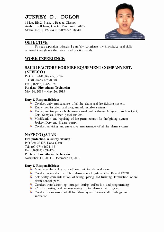 Junrey Updated Resume
