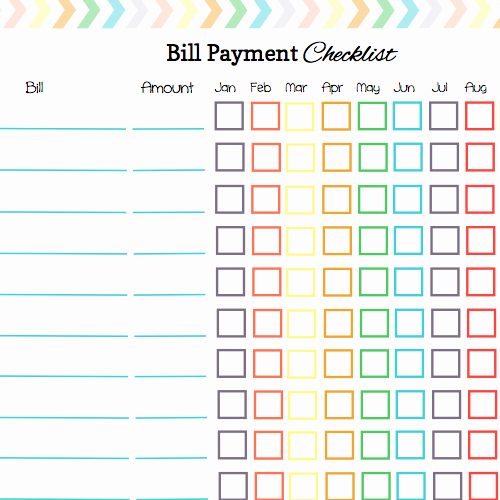 Keep Your Bill Due Dates Straight with these Free Calendar