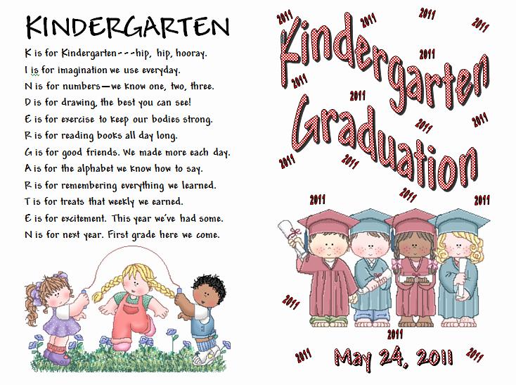 Keeping Focused Kindergarten Graduation
