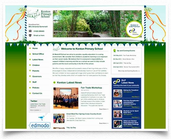 Kenton Primary School Website Design Eightyone Design