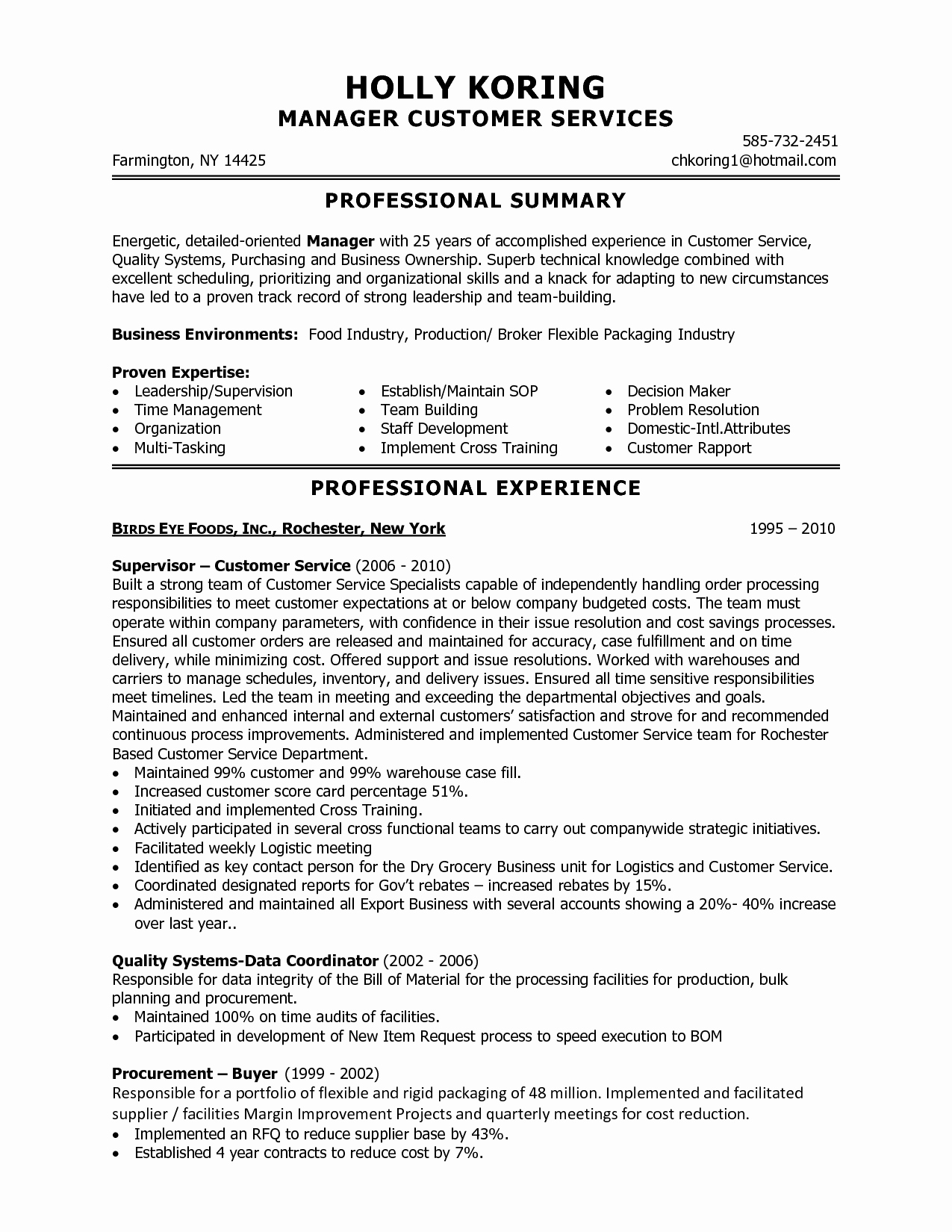 Key attributes Resume Resume Ideas
