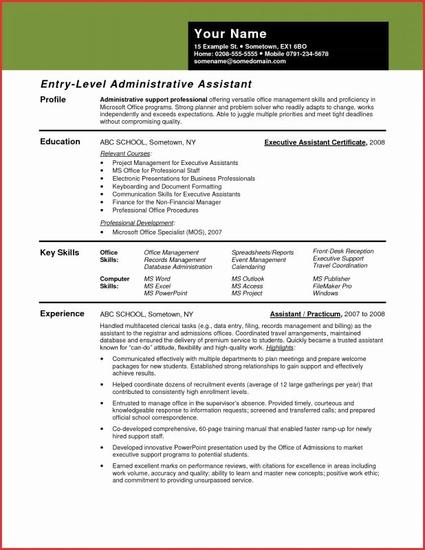 Keywords for Administrative assistant Resume