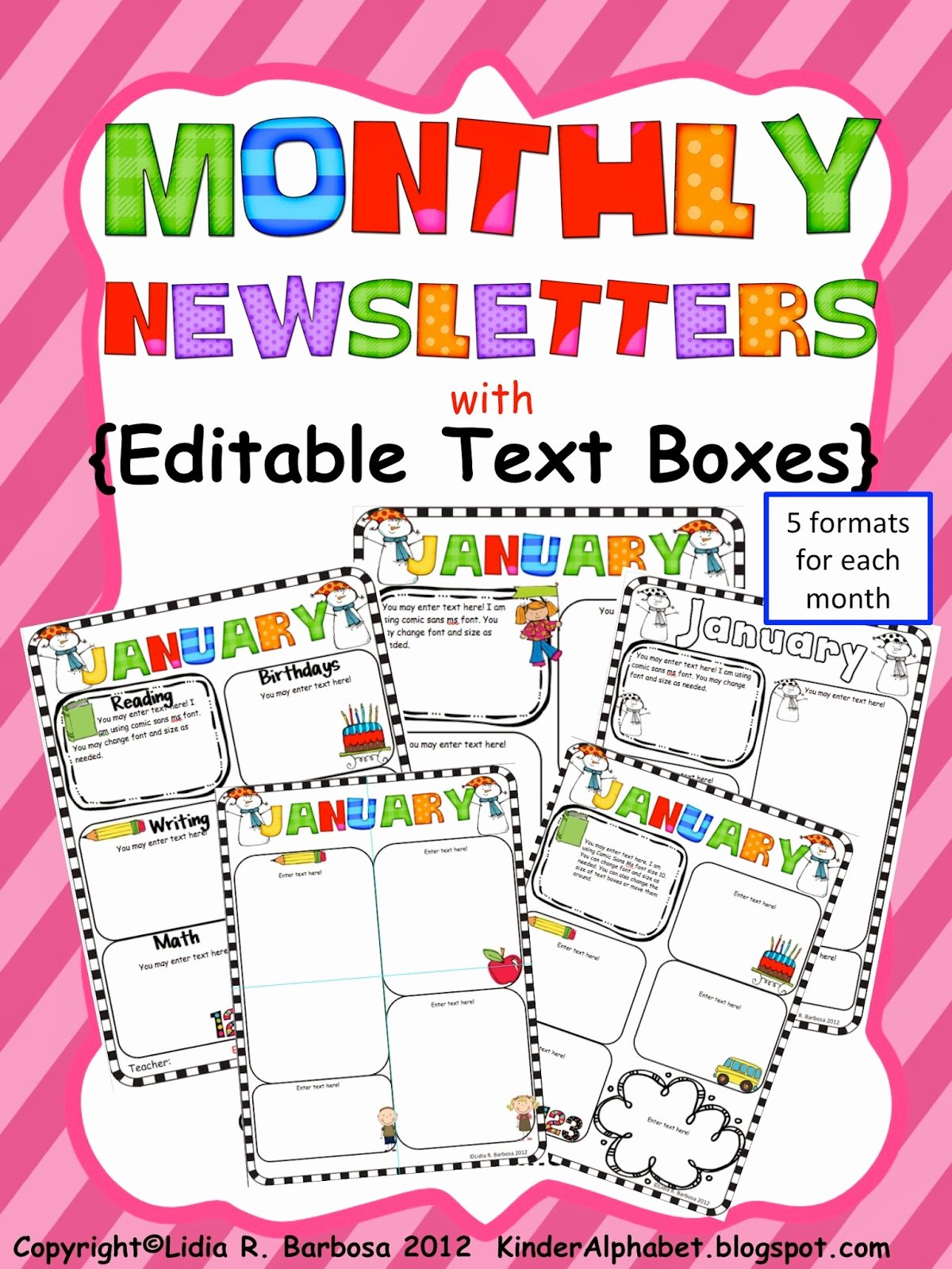 Kinder Alphabet — Teacher Resources In English and Spanish