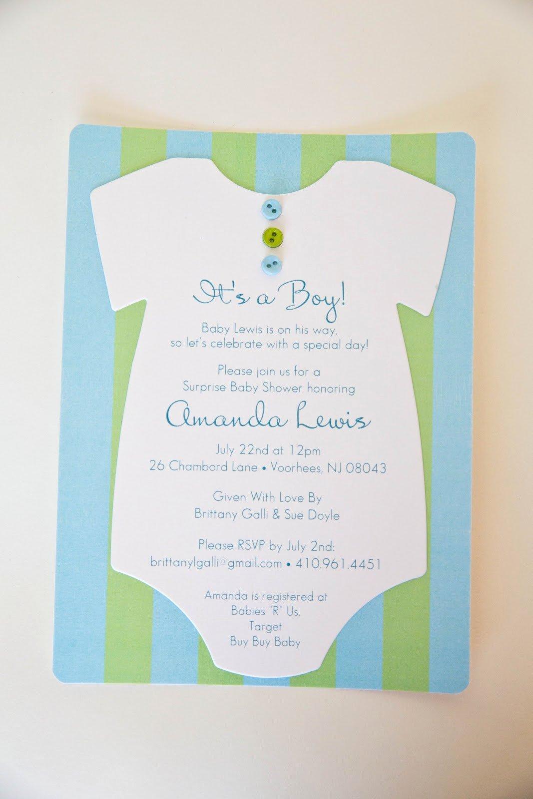 Kindly R S V P Designs Blog Esie Baby Shower