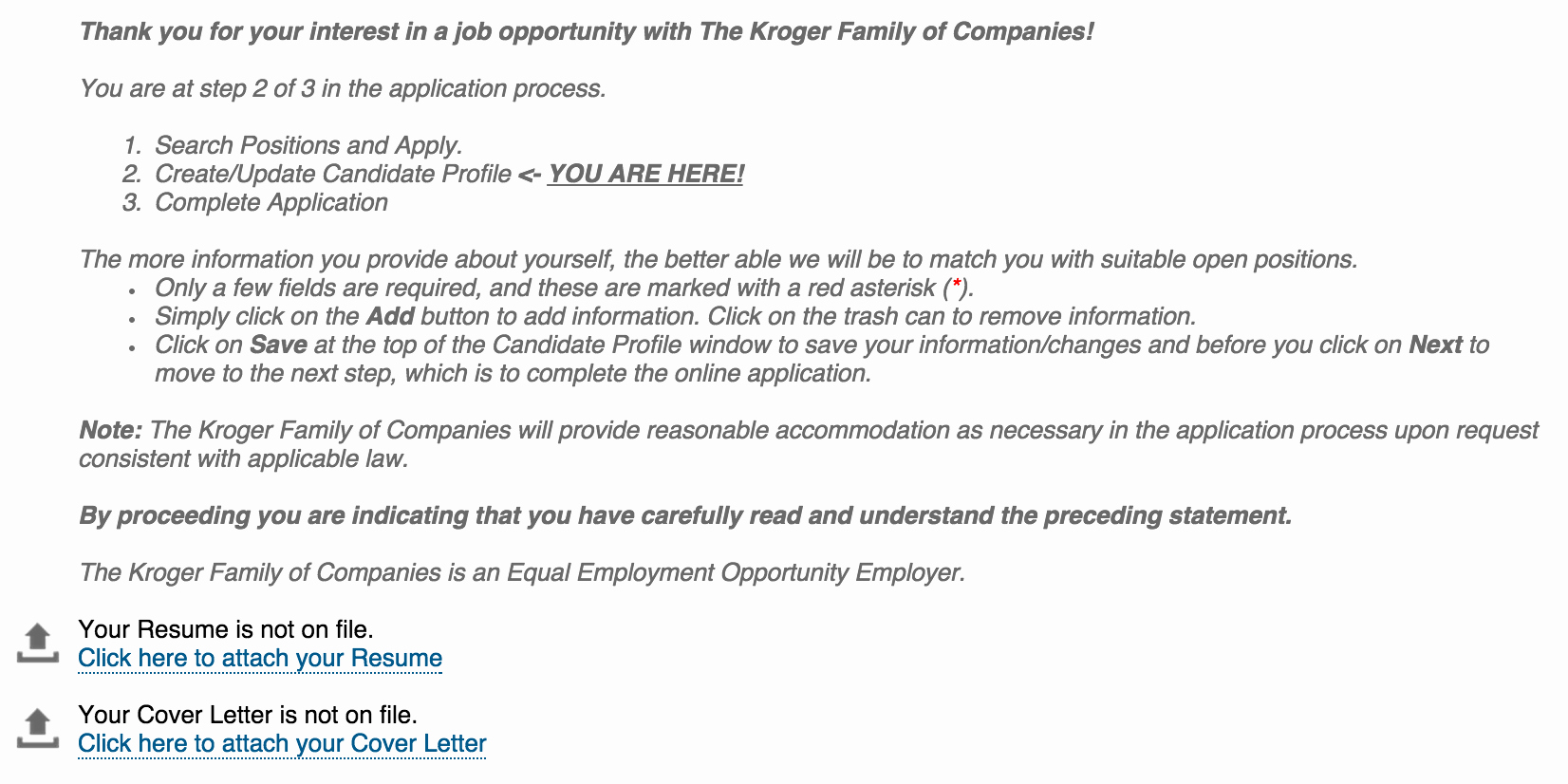 Kroger Job Application Apply Job Kroger Online