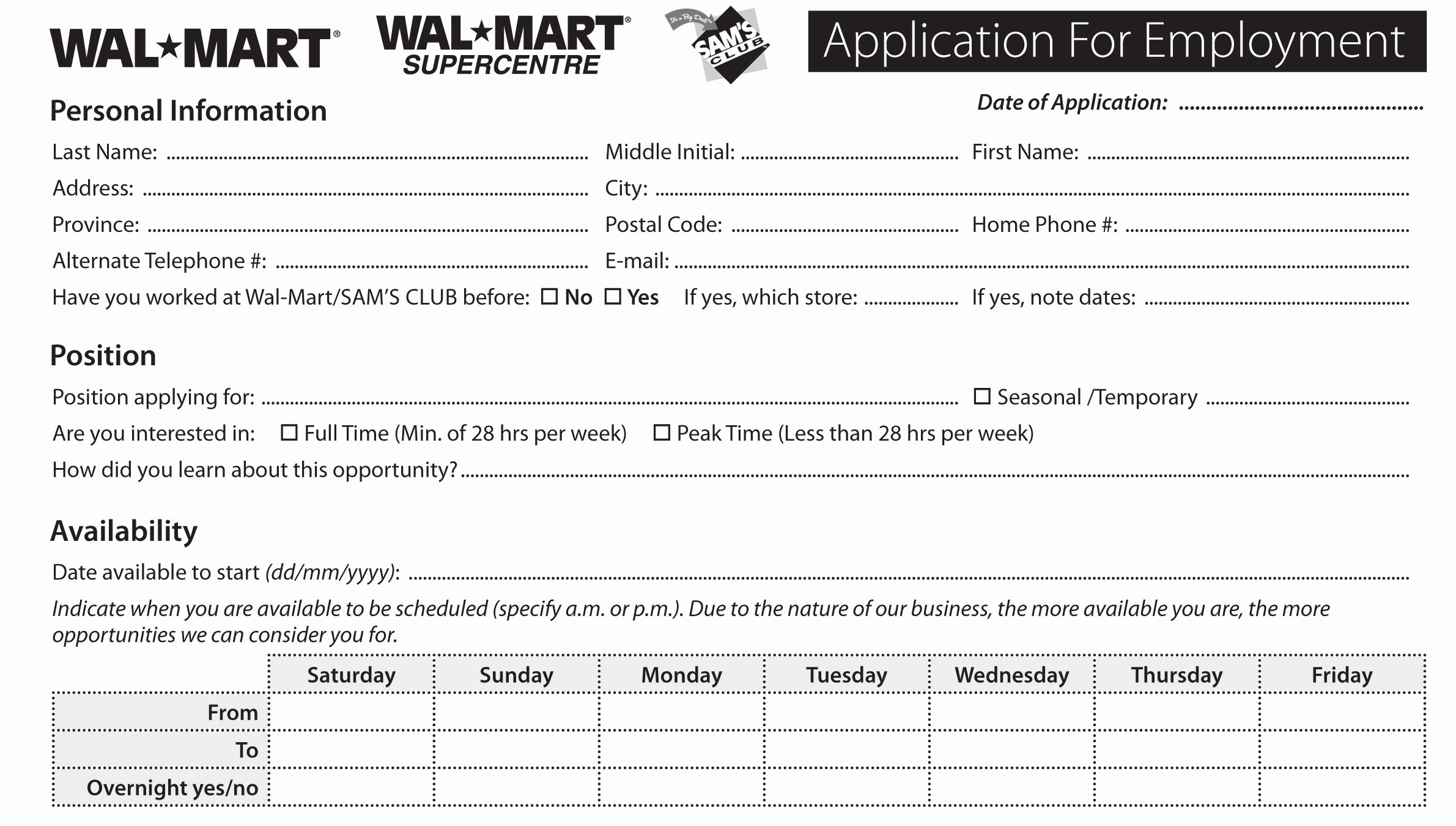 Kroger Job Application top Job Applications Printable Job