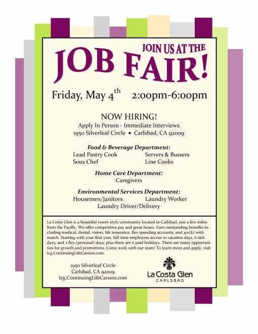 La Costa Glen Job Fair 5 4