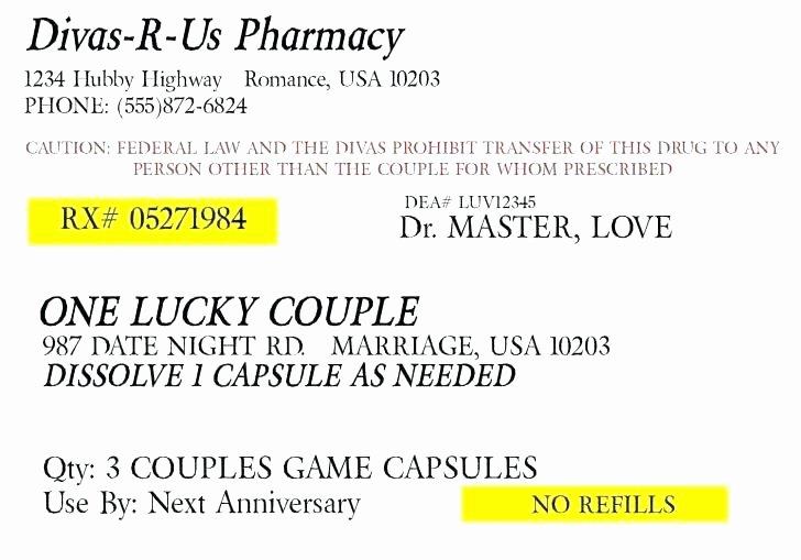 Label Template Label Template Prescription Label Template
