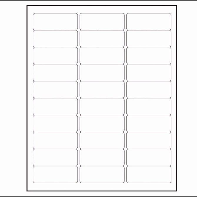 Labels Per Sheet Template Excel Avery Xerox Address